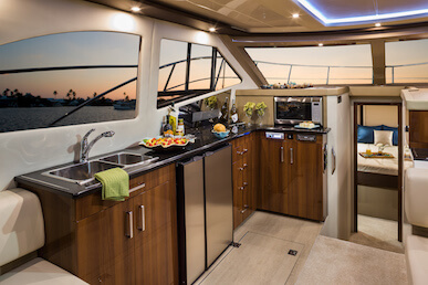 Carver C40 Galley