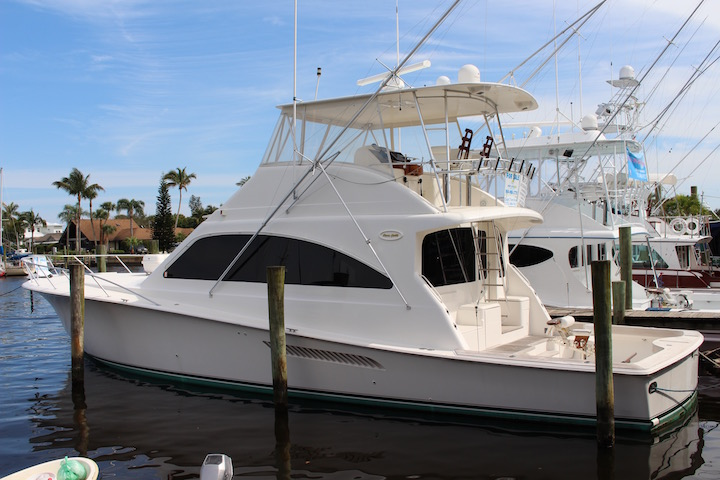 Ocean Yachts 54 SS Side View