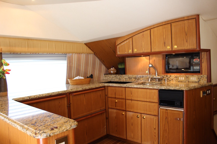 Ocean Yachts 54 SS Galley