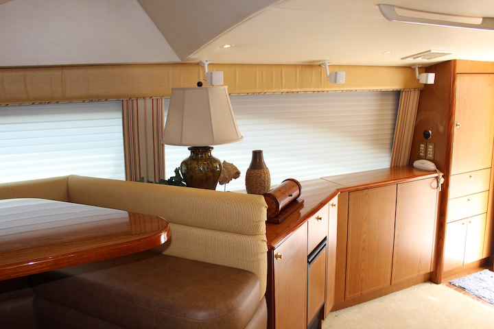 Ocean Yachts 54 SS Room Transition