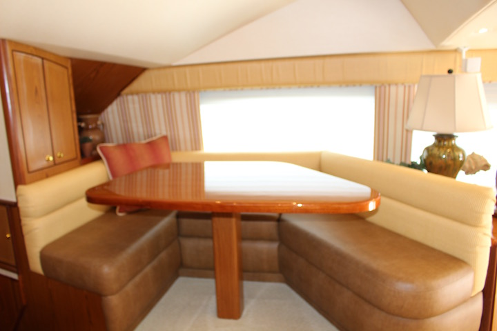 Ocean Yachts 54 SS Raised Galley Table