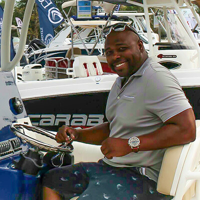 Yacht Broker Tony White